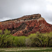 Ghost Ranch View Art Print