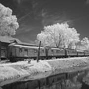 Ghost Town Train Art Print