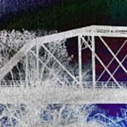 Ghostly Bridge Art Print