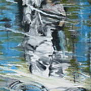 Ghostrider Reflection Art Print