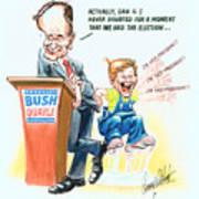 Ghwb Election Art Print
