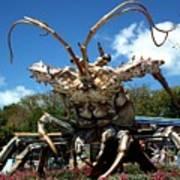 Giant Lobster Art Print by Tammy Chesney