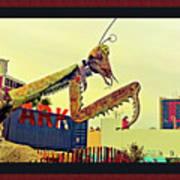 Giant Preying Mantis 1 Art Print