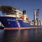Giant Ship's Art Print