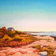 Giant Steps Maine Art Print