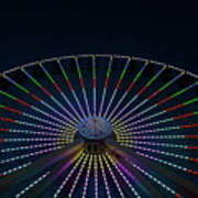 Giant Wheel Ferris Wheel Art Print