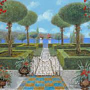 Giardino Italiano Art Print