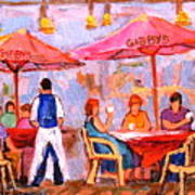 Gibbys Cafe Art Print