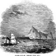 Gibraltar, 1843 Art Print
