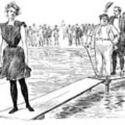 Gibson: Bather, 1900 Art Print