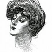 Gibson Girl 1902 Art Print