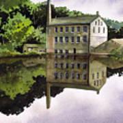 Gibson Mill Art Print