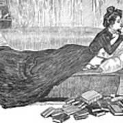 Gibson: Reader, 1900 Art Print