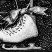 Gift Of Ice Skating Art Print