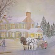 Gifts On Christmas Eve Art Print