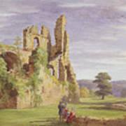 Gight Castle, 1851 Art Print