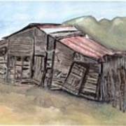 Gila New Mexico Cattle Barn Art Print