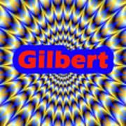 Gilbert Art Print