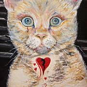 Gilbert With The Broken Heart Art Print