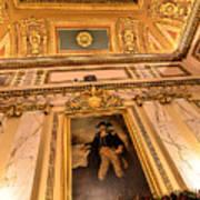 Gilded Ceiling Art Print