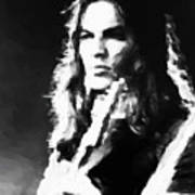Gilmour #343 By Nixo Art Print