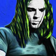 Gilmour Neon Nixo Art Print