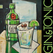 Gin And Tonic Poster Art Print