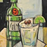 Gin Gimlet Art Print
