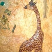 Giraffe   SOLD  Art Print