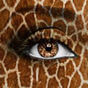 Giraffe Print by Yosi Cupano
