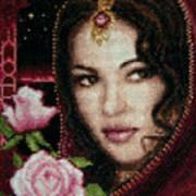 Girl From Alhambra Art Print