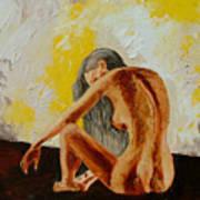 Girl Nude 1 Art Print