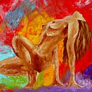 Girl Nude 2 Art Print
