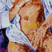 Girl Nude 4 Art Print
