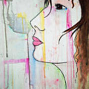 Girl10 Art Print