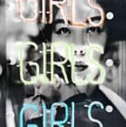 Girls Art Print