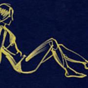 Girlsketch Art Print