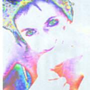 Gisele Art Print
