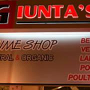 Giunta's Prime Meat Art Print