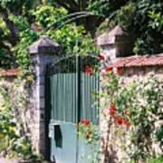 Giverny Gate Art Print
