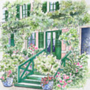 Giverny Welcome Art Print