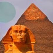 Giza Sphinx 2 Art Print
