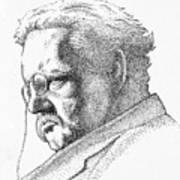 Gk Chesterton Art Print
