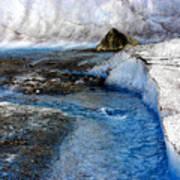 Glacial Stream Art Print