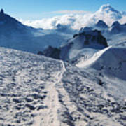 Glacier Blanche  Art Print
