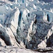 Glacier Detail Art Print