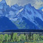 Glacier Gulch Art Print