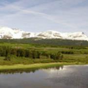 Glacier National Park Scenic Art Print