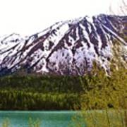 Glacier Waters Art Print
