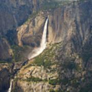 Glacierpoint Yosemitefalls Art Print